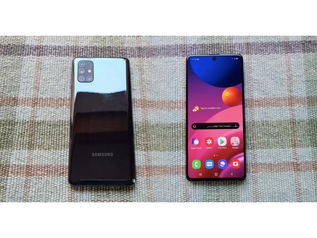 Samsung Galaxy M51 Alan Yerler